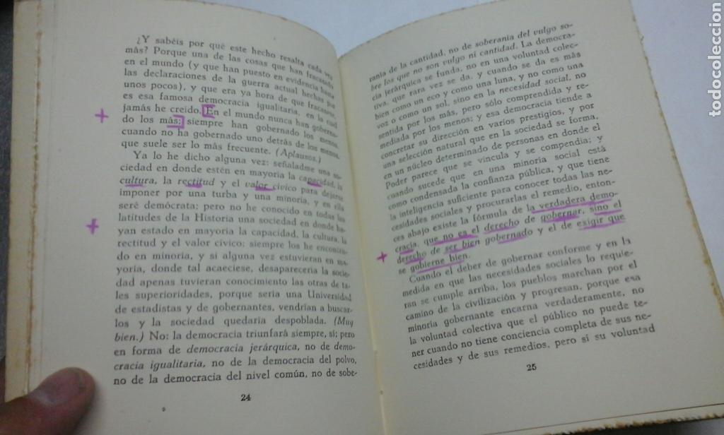 Libros de segunda mano: Los tres dogmas nacionales.Vazquez de Mella.1941 - Foto 4 - 94454707
