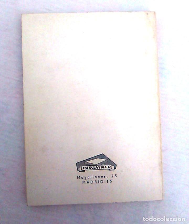 Libros de segunda mano: El ABC de la cibernética. V. Kasatkin. Editorial Paraninfo, Manuales tecnológicos. ISBN 8428304211. - Foto 2 - 94515022