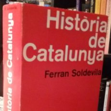 Libros de segunda mano: HISTÒRIA DE CATALUNYA (VOLUM III) - FERRAN SOLDEVILA. Lote 94525366