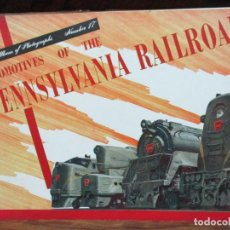 Libros de segunda mano: LOCOMOTIVES OF THE PENNSYLVANIA RAILROAD. TRAINS ALBUM OF PHOTOGRAPHS NUMBER 17. C. 1946. . Lote 94579307