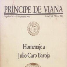 Libros de segunda mano: HOMENAJE A JULIO CARO BAROJA.. Lote 94733879