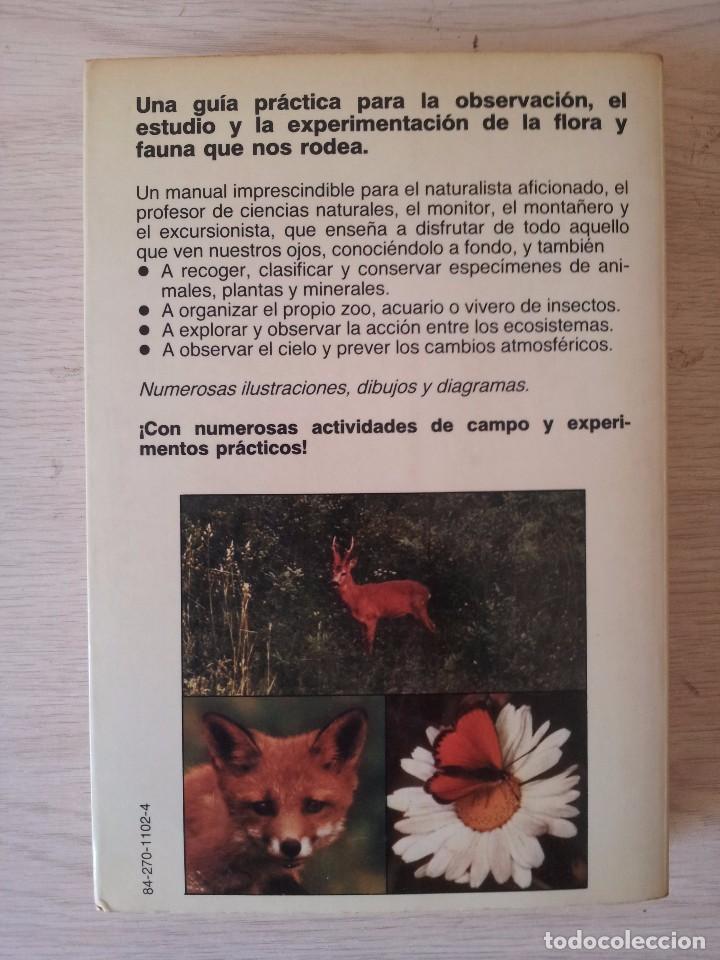 Libros de segunda mano: VINSON BROWN - MANUAL DEL NATURALISTA AFICIONADO - EDICIONES MARTINEZ ROCA 1987 - Foto 2 - 94872407