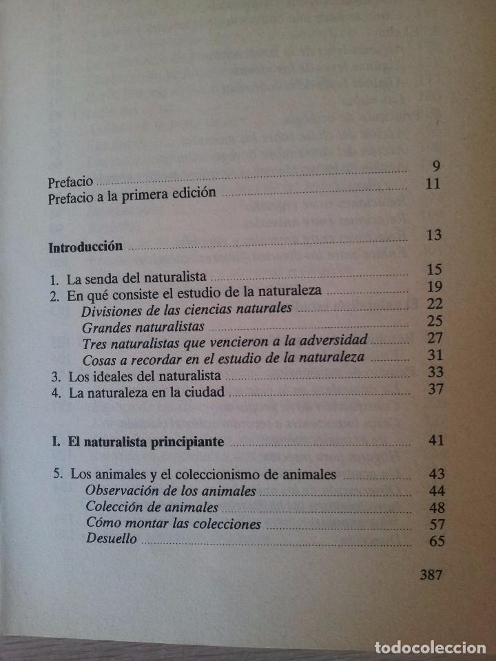 Libros de segunda mano: VINSON BROWN - MANUAL DEL NATURALISTA AFICIONADO - EDICIONES MARTINEZ ROCA 1987 - Foto 3 - 94872407