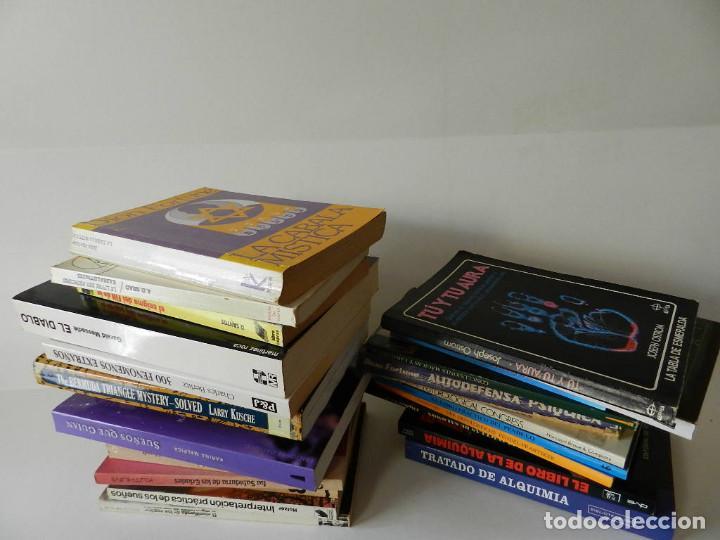 LOTE Nº 9 VARIADO 28 LIBROS CHAMANISMO MAGIA BRUJERIA OBSERVAR IMÁGENES INTERESANTES ALGUNO RARO (Libros de Segunda Mano - Parapsicología y Esoterismo - Otros)