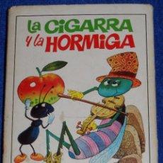 Libros de segunda mano: LA CIGARRA Y LA HORMIGA - TESORO DE CUENTOS - BRUGUERA (1975). Lote 94968467