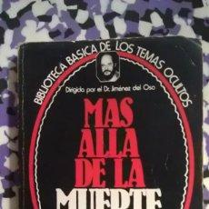 Libros de segunda mano: MAS ALLA DE LA MUERTE. Lote 95002911