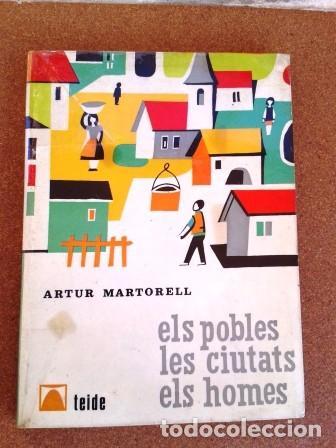 ELS POBLES, LES CIUTATS, ELS HOMES (LECTURES PER A EGB) (Libros de Segunda Mano - Literatura Infantil y Juvenil - Otros)