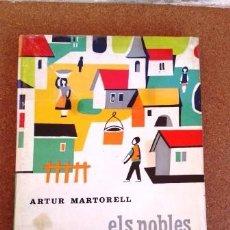 Libros de segunda mano: ELS POBLES, LES CIUTATS, ELS HOMES (LECTURES PER A EGB). Lote 95012327