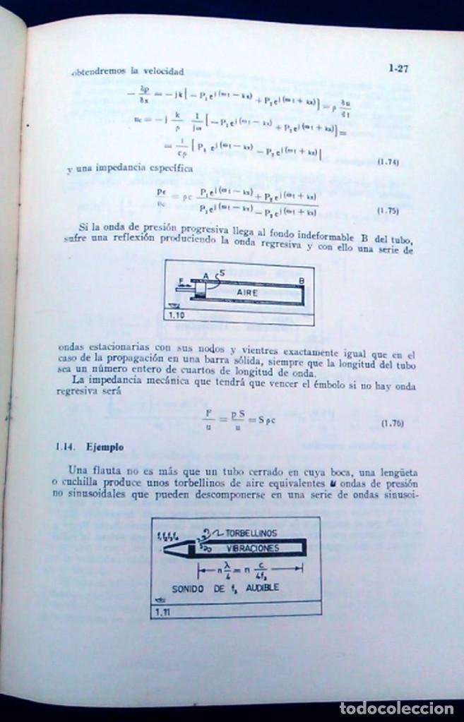 Libros de segunda mano: Electroacústica, Joaquín G. Barquero, ingeniero de telecomunicación. 1959. Gráficas González. Libro. - Foto 4 - 95036547