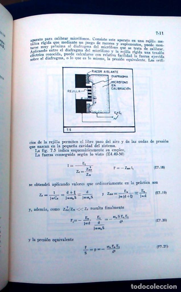 Libros de segunda mano: Electroacústica, Joaquín G. Barquero, ingeniero de telecomunicación. 1959. Gráficas González. Libro. - Foto 6 - 95036547