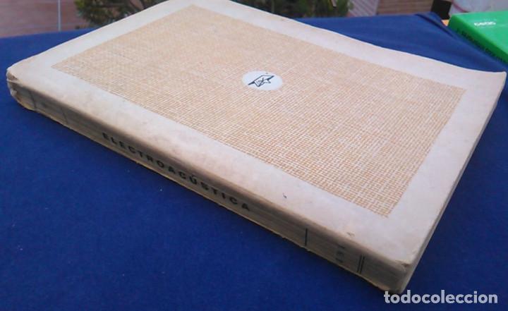Libros de segunda mano: Electroacústica, Joaquín G. Barquero, ingeniero de telecomunicación. 1959. Gráficas González. Libro. - Foto 9 - 95036547