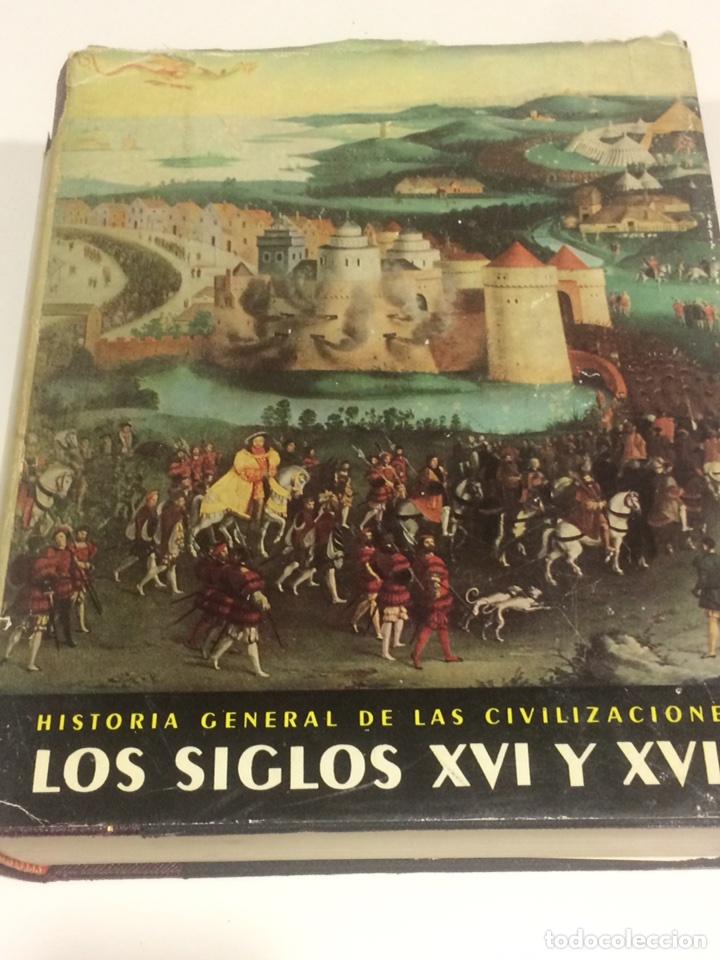 Libros de segunda mano: Historia General de las civilizaciones siglos XVI y XVII - Foto 2 - 95119770