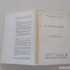 Libros de segunda mano: ADÉLIO MANRINHO DE MACEDO . AS OLARIAS DE BERINGEL. RM82149. . Lote 95145495