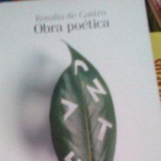 Libros de segunda mano: OBRA POÉTICA. ROSALÍA. Lote 95258971