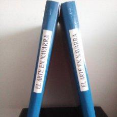 Libros de segunda mano: EL ARTE EN NAVARRA - 2 TOMOS - CONCEPCIÓN GARCÍA GAINZA - AÑO 1996 -. Lote 95328875