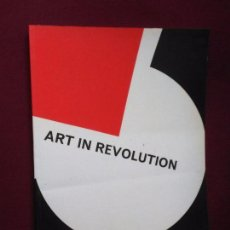 Libri di seconda mano: ART IN REVOLUTION: SOVIET ART AND DESIGN SINCE 1917 (ARTS COUNCIL GREAT BRITAIN.1971) ARTE SOVIETICO. Lote 95336023
