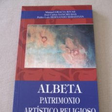 Libros de segunda mano: LIBRO PATRIMONIO ARTISTICO RELIGIOSO ZARAGOZA ALBETA MANUEL GRACIA RIVAS SANCHO BASS HERNANDO SEBAST. Lote 95342215