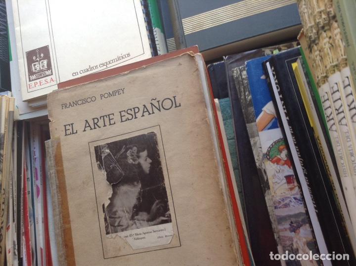 Libros de segunda mano: El,arte español. Francisco Pompey - Foto 3 - 95384462