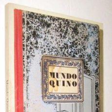 Libros de segunda mano: MUNDO QUINO - JOAQUIN LAVADO - MUY ILUSTRADO *. Lote 95395187