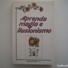Libros de segunda mano: LIBRERIA GHOTICA. MAGO BERTO. APRENDE MAGIA E ILUSIONISMO. 1990. MUY ILUSTRADO. 1A EDICION. . Lote 95410499