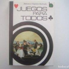 Libros de segunda mano: LIBRERIA GHOTICA. JUEGOS PARA TODOS. 1983. FOLIO MENOR. MUY ILUSTRADO.MAGIA.. Lote 95411187