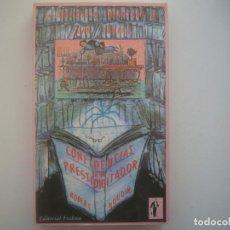 Libros de segunda mano: LIBRERIA GHOTICA. ROBERT HOUDIN. CONFIDENCIAS DE UN PRESTIDIJITADOR. 1990. ILUSTRADO. MAGIA.. Lote 95418259