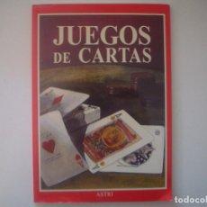 Libros de segunda mano: LIBRERIA GHOTICA. JUEGOS DE CARTAS. 1998. FOLIO. MUY ILUSTRADO. MAGIA.. Lote 95425323