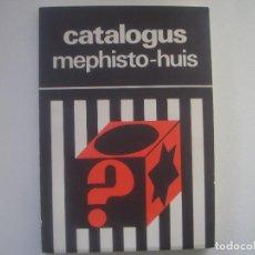 Libros de segunda mano: LIBRERIA GHOTICA. CATALOGUS MEPHISTO-HUIS. 1995. MUY ILUSTRADO. MAGIA. RARO.. Lote 95426203