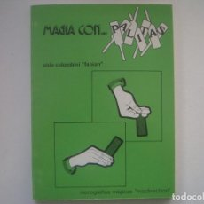 Libros de segunda mano: LIBRERIA GHOTICA. ALGO COLOMBINI-FABIAN. MAGIA CON... PALITAS. 1975. MUY ILUSTRADO. FOLIO MENOR.. Lote 95426915