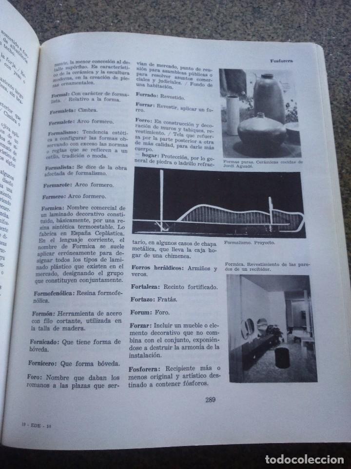 Libros de segunda mano: DICCIONARIO DE LA DECORACION -- EDICIONES CEAC 1979 -- - Foto 3 - 95431099