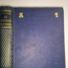 Libros de segunda mano: LA HISTORIA DE ESPAÑA 19?? ERNESTO JIMENEZ NAVARRO ED. COMPAÑIA BIBLIOGRÁFICA ESPAÑOLA. Lote 95448939