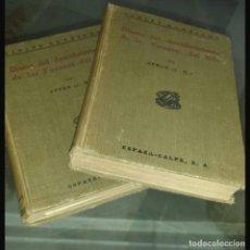 Libros de segunda mano: DIARIO DEL DESCUBRIMIENTO DE LAS FUENTES DEL NILO 1921 TOMO I & II SPEKE J HANNING ESPASA CALPE. Lote 95494583