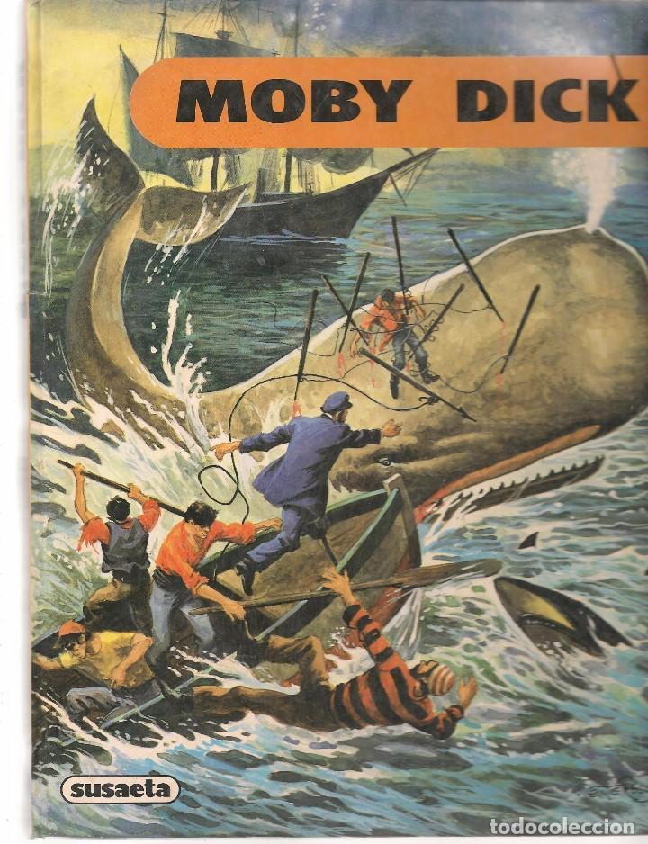 MOBY DICK. SUSAETA 1983. DIBUJOS: VICENTE ROSO. (B/58 (Libros de Segunda Mano - Literatura Infantil y Juvenil - Otros)