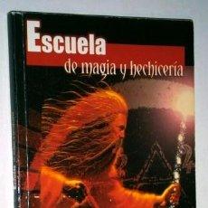 Libros de segunda mano: ESCUELA DE MAGIA Y HECHICERÍA POR LUIS G. LA CRUZ DE ED. DISPAÑA EN MADRID 2002. Lote 95638015