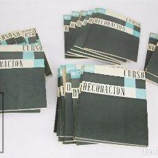 Libros de segunda mano: COLECCIÓN COMPLETA DE 36 CUADERNILLOS - CURSO DE DECORACIÓN CEAC - CEAC, 1966. Lote 95674059