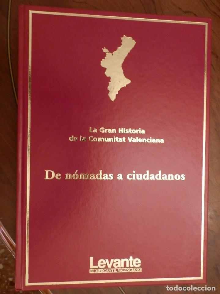 LA GRAN HISTORIA DE LA COMUNIDAD VALENCIANA,10 VOL.,NUEVA PRECINTADA 2400PP AÑO 2007 ,LEVANTE (Libros de Segunda Mano - Historia - Otros)
