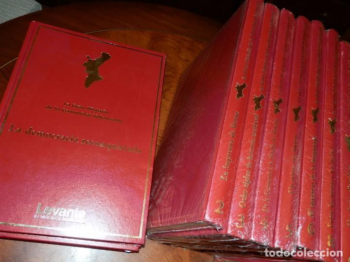 Libros de segunda mano: LA GRAN HISTORIA DE LA COMUNIDAD VALENCIANA,10 VOL.,NUEVA PRECINTADA 2400PP AÑO 2007 ,LEVANTE - Foto 2 - 95686883