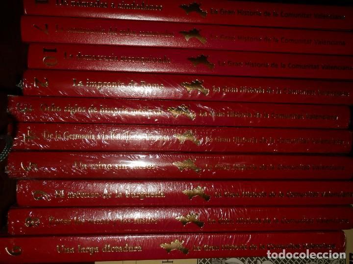 Libros de segunda mano: LA GRAN HISTORIA DE LA COMUNIDAD VALENCIANA,10 VOL.,NUEVA PRECINTADA 2400PP AÑO 2007 ,LEVANTE - Foto 3 - 95686883