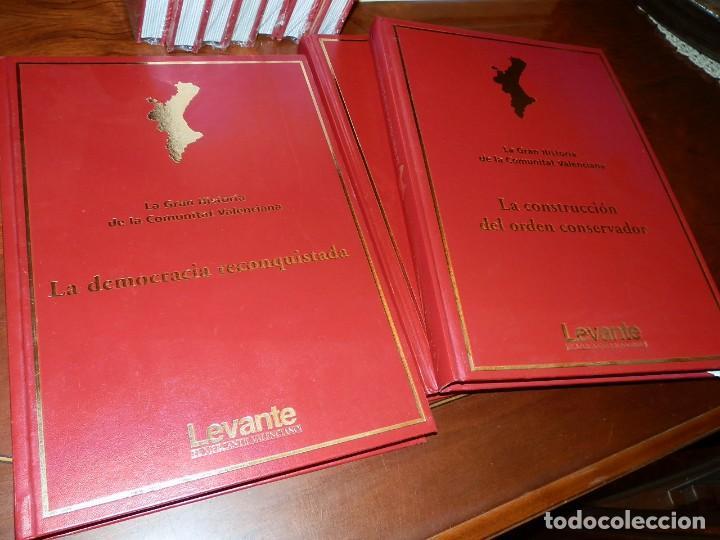 Libros de segunda mano: LA GRAN HISTORIA DE LA COMUNIDAD VALENCIANA,10 VOL.,NUEVA PRECINTADA 2400PP AÑO 2007 ,LEVANTE - Foto 17 - 95686883