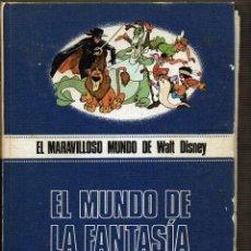 Libros de segunda mano: EL MUNDO DE LA FANTASÍA - EL MARAVILLOSO MUNDO DE WALT DISNEY. Lote 95757835
