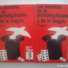 Libros de segunda mano: LIBRERIA GHOTICA. ROBERT-HOUDIN. LOS SECRETOS DE LA PRESTIDIGITACION Y DE LA MAGIA. 2 TOMOS. 1973.. Lote 95765087