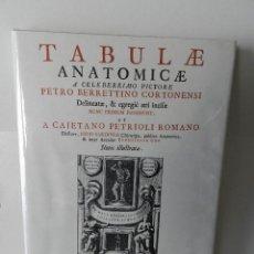 Libros de segunda mano: TABULAE ANATOMICAE BERRETTINO CORTONENSI ET AA FACSIMIL NUEVO ESTRENAR RETRACTILADO DIBUJO ANATOMÍA. Lote 95793015