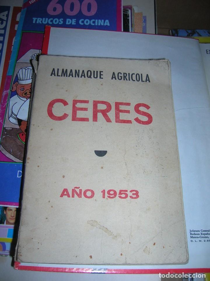 ALMANAQUE AGRICOLA CERES. AÑO 1953. (Libros de Segunda Mano - Ciencias, Manuales y Oficios - Otros)