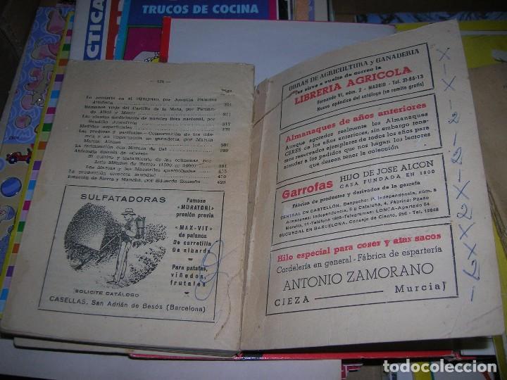 Libros de segunda mano: Almanaque agricola Ceres. Año 1953. - Foto 8 - 95806787