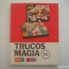 Libros de segunda mano: LIBRERIA GHOTICA. MAGIA BORRAS. 35 TRUCOS. INSTRUCCIONES. 1971. MUY ILUSTRADO.. Lote 95818331