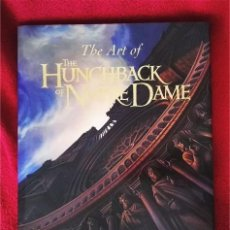 Libros de segunda mano: THE ART OF THE HUNCHBACK OF NOTRE DAME. Lote 95863111