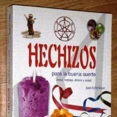 Libros de segunda mano: HECHIZOS PARA LA BUENA SUERTE POR JUAN ECHENIQUE DE ED. LIBSA EN MADRID 2004. Lote 95874439