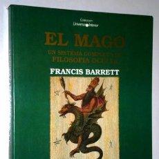Libros de segunda mano: EL MAGO POR FRANCIS BARRETT DE ED. IBIS EN BARCELONA 1990. Lote 95881519