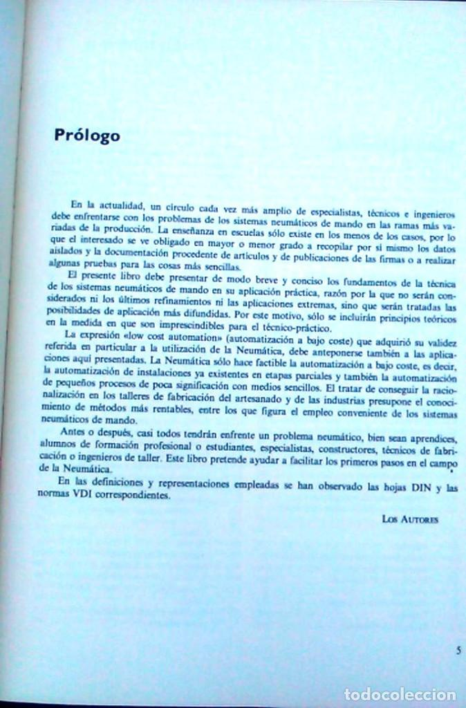Libros de segunda mano: Dispositivos neumáticos. Introducción y fundamento. W.Deppert y K.Stoll. Marcombo Boixareu Editores. - Foto 3 - 95891527
