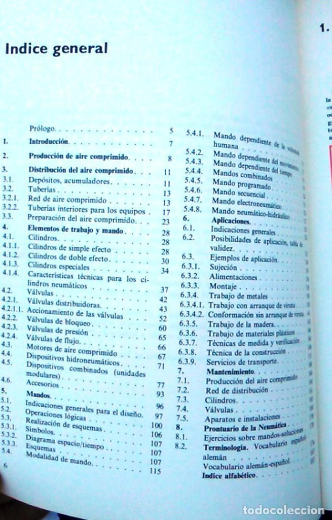 Libros de segunda mano: Dispositivos neumáticos. Introducción y fundamento. W.Deppert y K.Stoll. Marcombo Boixareu Editores. - Foto 4 - 95891527